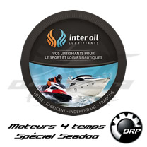 Huile Interoil 4 Temps Marine Spécial Seadoo