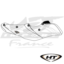 Housse de selle HT Premier Sea-Doo RXT-X 300, RXT-X aS 260, RXT 260, Wake Pro 215 (16-17)