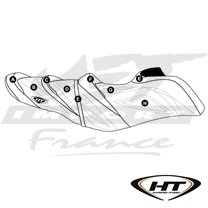 Housse de selle HT Premier Sea-Doo GTX Ltd 215, GTX Ltd 300, GTX Ltd iS 260, GTX, GTX S 155 (16-17), GTR 230 (17)